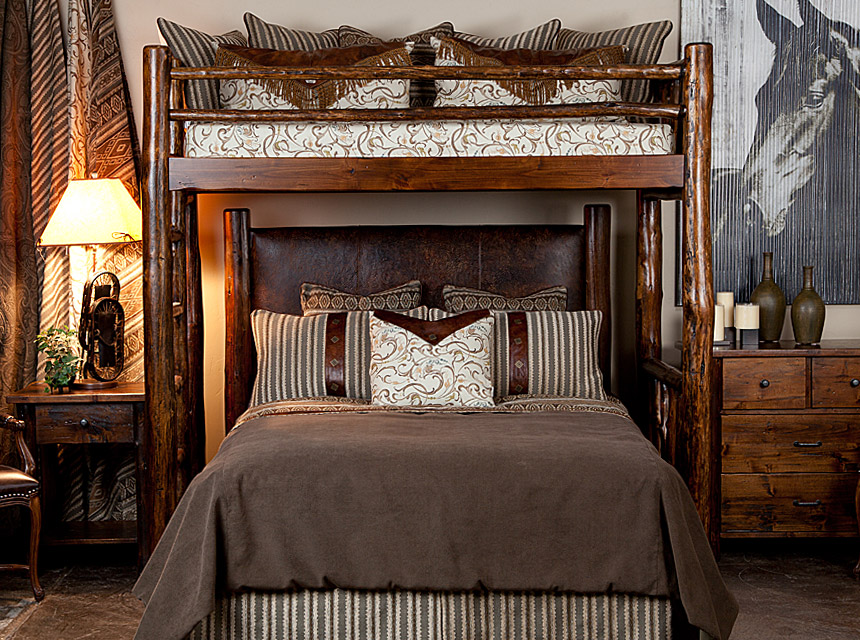 High Uinta Canopy W/Flagstaff Bed By Berry Creek : high canopy bed - memphite.com